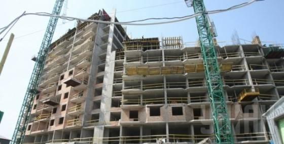Строительство жилого здания