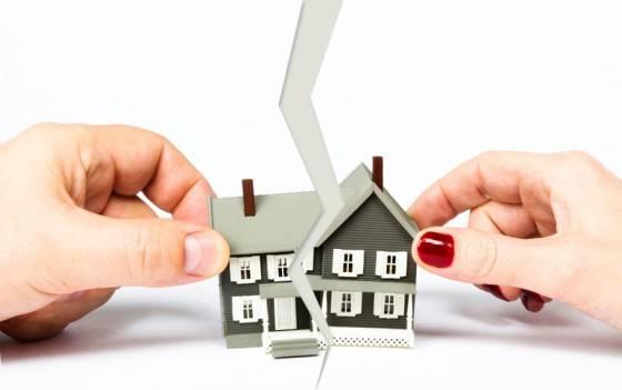 Разделения жилья по долям