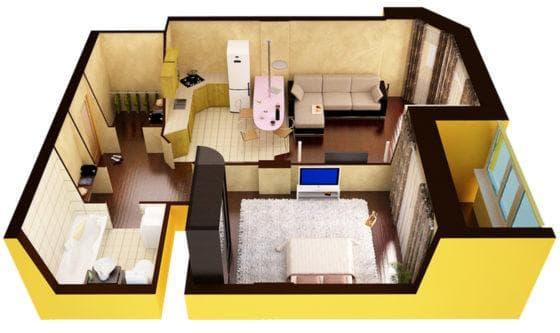как проходит перепланировка квартиры